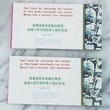 "Bruce Lee Motion Pictures on Paper Book Jeet Kune Do 1977 Volume 1 - 2.5"" x 5"""