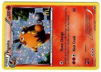 PROMO POKEMON MAC DO 2012 MCDONALD'S (BW) CARD HOLO N°  4/12 PIGNITE 100 HP