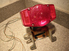 Honda CB500 1972 Taillight with License Mount