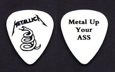 Metallica Metal Up Your @ss Promo White Guitar Pick