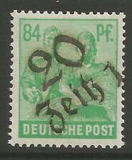 "Estampillas-Alemania-zona soviética. 1948. 84pf Esmeralda. ""empresa"". Michel: 181 IV. geprüft"