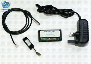 Aqua Pi Basic - Aquarium Controller With Temperature Sensor Web Interface