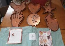 Martha Stewart By Mail Copper Cookie Cutters Lot of 6! Huge size RARE ONES HTF