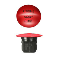 Red Engine Start Stop Push Button Keyless Switch For Mercedes Benz 2215450514