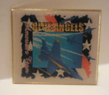 BLUE ANGELS AMERICAN TEAM USMC NAVY SQUARE COLLECTOR PIN