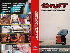 SNUFF High Octane Video Wounders LIVE rar EXTREM PUNK Fuck Off KULT Band VHS