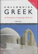 Colloquial: Colloquial Greek by Niki Watts (1994, Paperback)