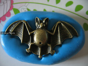Large Bat Halloween Silicone Mould/Mold Sugarpaste,Chocolate, Cup & Cake Toppers