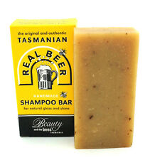 Tasmanian Real Beer Shampoo Bar Itchy Sensitive Scalp chemical-free coconut