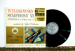 Tchaikowsky: Symphony VI (Pathétique), Alfred Wallenstein, 1959 LP - VG+ Vinyl