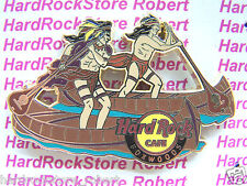 2014 HARD ROCK CAFE FOXWOODS NATIVE AMERICAN INDIANS/CANOE RACING LE PIN