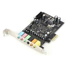 PCI-E 6 Port 8 Track Sound Card 7.1 HiFI High Fidelity Internal Surround Card BS