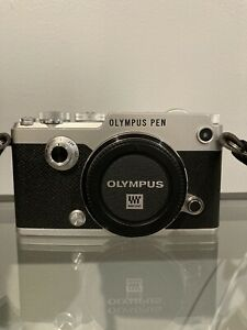 Olympus PEN-F 20.3MP Digital Camera - Silver (Body Only)
