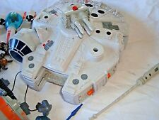 Hasbro Star Wars Millennium Falcon LOT w- FIGURES mixed lot SEE PHOTOs