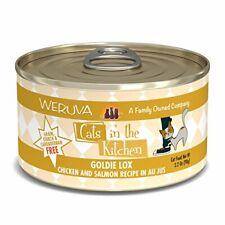 Weruva Cats In The Kitchen, Goldie Lox With Chicken Salmon Au Jus Cat Food,