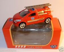 rare NOREV 3 INCHES 1/54 PEUGEOT H2O FUEL CELL POMPIERS PILE A COMBUSTIBLE BOX