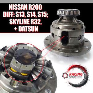 Progressive LSD conversion set (Fits: Nissan S13, S14, S15) R200 Differential