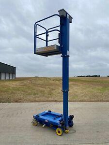 2014 Power Towers Nano Battery Mast Elevated Working Access Platform £825 + VAT