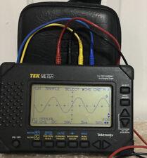 Tektronix Thm565 TekMeter Digital Scopemeter&Multimeter Used Excellent condition