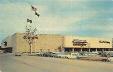 Wauwatosa Wisconsin 1950-60s Postcard Mayfair Shopping Center Marshall Fields