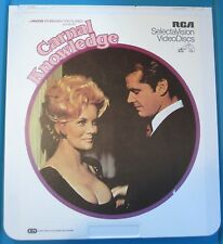 Vintage Videodisc RCA SelectaVision CARNAL KNOWLEDGE - CED