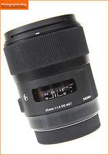 Sigma EX 35mm f1.4 DG HSM ART messa a fuoco automatica veloce Primo Lente-Canon + GRATIS UK