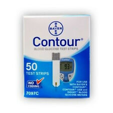 Bayer Contour Test Strips, 50ct Box