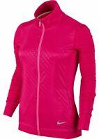 Nike women's Key full zip Cosmic Fuchsia Golf Jacket size Small retail $80