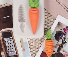 Silicone Mould Carrot veg Easter bunny chocolate clay wax soap resin sugarcraft
