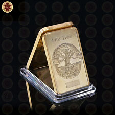 WR Odin - Life Tree Gold Bar Commemorative In Plastic Capsule​ Gifts for Husband