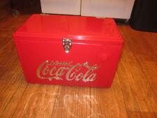 NEW Retro Ice Chest COCA COLA COOLER CHECK IT OUT