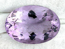 78.78 Ct Oval Brilliant Natural Brazilian Rose De France Amethyst Gem Gemstone