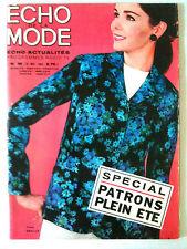 L'echo de la mode n° 19 année 1964; Mode / Cuisine / Ouvrages / Romans