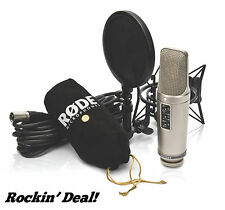 RODE NT2-A Cardioid Condenser Microphone Studio Bundle NT2A - Un-used in box