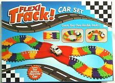 Flexi Track! Create Your Own Flexible Track Car Set