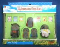 Sylvanian Families OWL FAMILY Flair Vintage Calico Critters Epoch W/Box