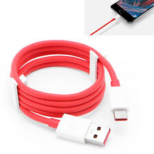 For Oneplus 3 Sumsung S8 Type-C Original Red Dash Charge Charger Data USB Cable