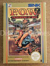 PRISONERS OF WAR POW - NINTENDO NES - PAL ESPAÑA B - P.O.W. P. O. W. PRISIONERS