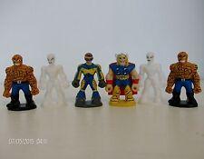 SPIDERMAN et AMIS chocolat œuf Marvel Mini Figurines x 6