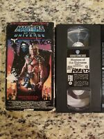 1987 MASTERS of The UNIVERSE Live Action Movie VHS Tape Dolph Lundgren FREE S/H