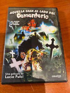 AQUELLA CASA AL LADO DEL CEMENTERIO - DVD SEGUNDA MANO - LUCIO FULCI