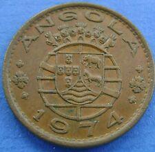 Angola - 1 escudo 1974 - KM# 76