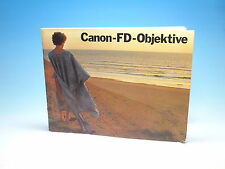 Canon-FD-Objektive Handbuch manual - (100985)