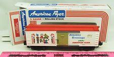 American Flyer ~ 6-48311  1991 American Flyer Christmas boxcar