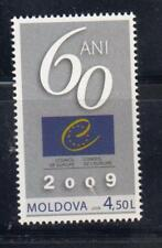 Moldova 2009 Mi.#349 60th anniversary of Council of Europe 1 stamp Cat.Euro 3.30