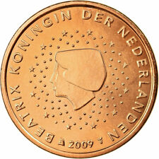 [#701987] Nederland, 5 Euro Cent, 2009, UNC-, Copper Plated Steel, KM:236