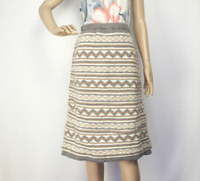 Warm Woollen Skirt Hand knitted with Fleece