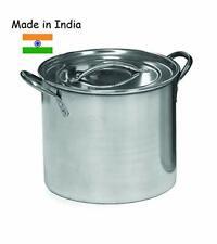 20 Quart Stainless Steel Stock Pot Qt Big Cooking Large Kitchen Soup 5 Gallon