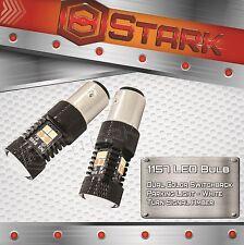 1157 1004 16W High Power 3030 Switchback LED AMBER WHITE Turn Signal Light PAIR