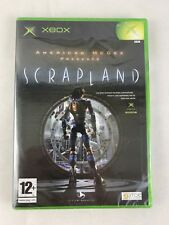 Xbox American McGee's Scrapland (2005), Brand New & Factory Sealed, Torn Seal